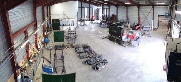 Atelier Metallerie 1250m²